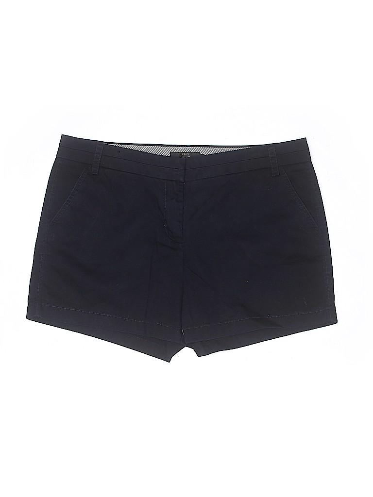 J. Crew Women Khaki Shorts Size 14