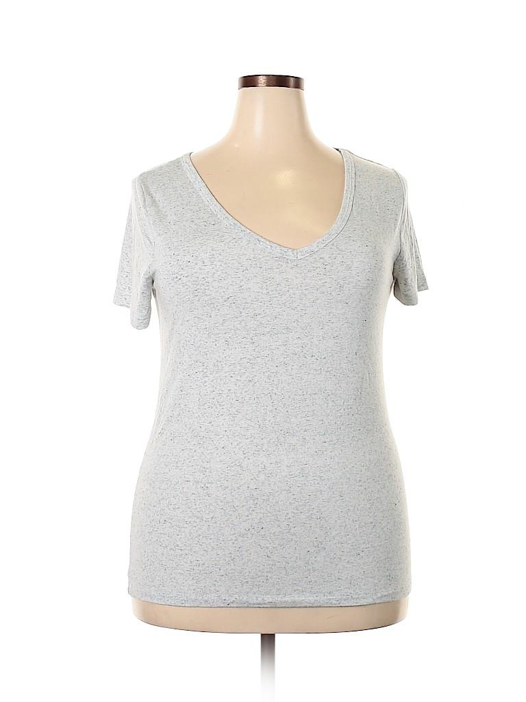 Merona Women Short Sleeve T-Shirt Size XL