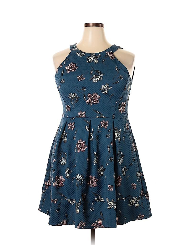 Xhilaration Women Casual Dress Size XXL