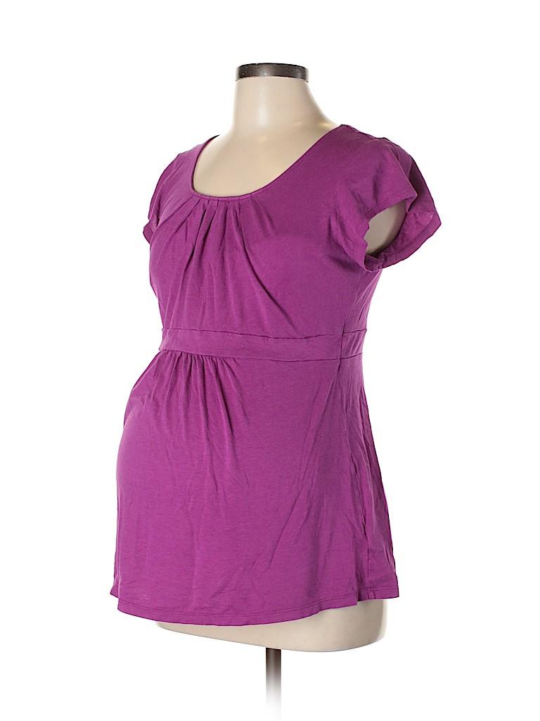 Old Navy - Maternity Women Short Sleeve Top Size M (Maternity)