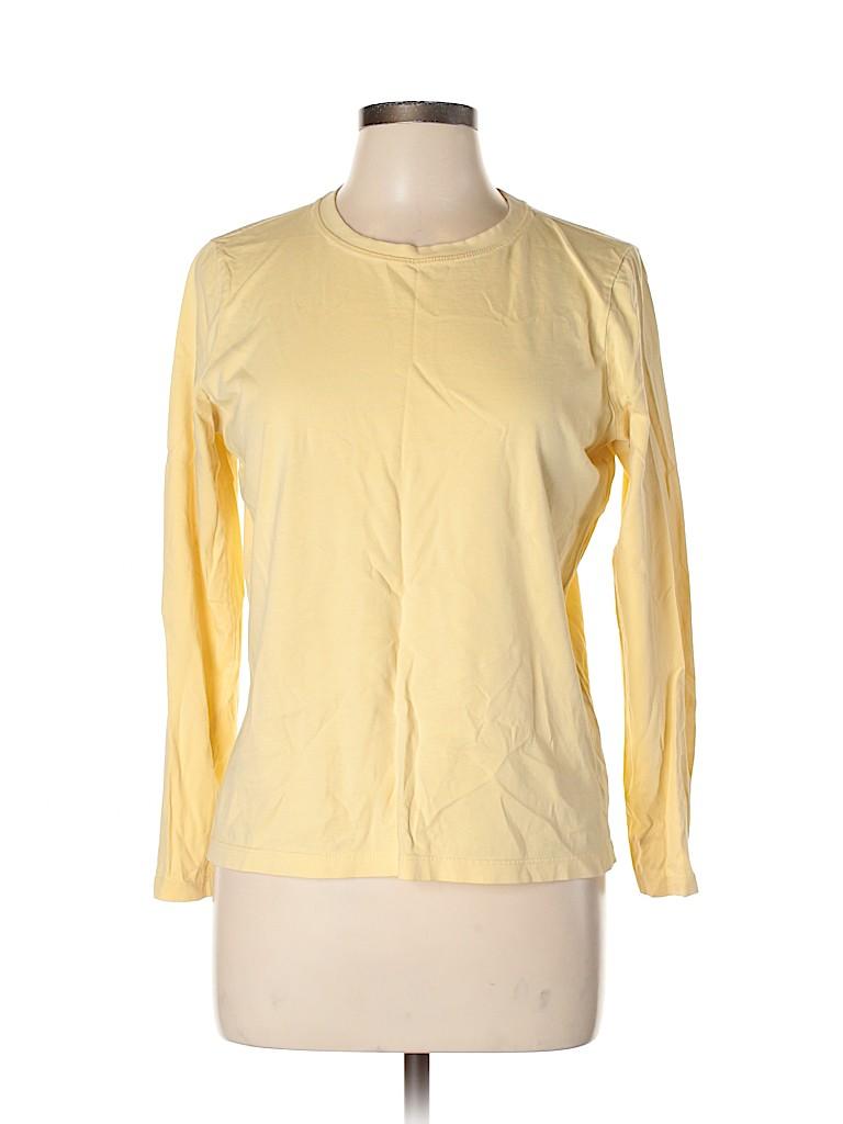 L.L.Bean Women Long Sleeve T-Shirt Size M