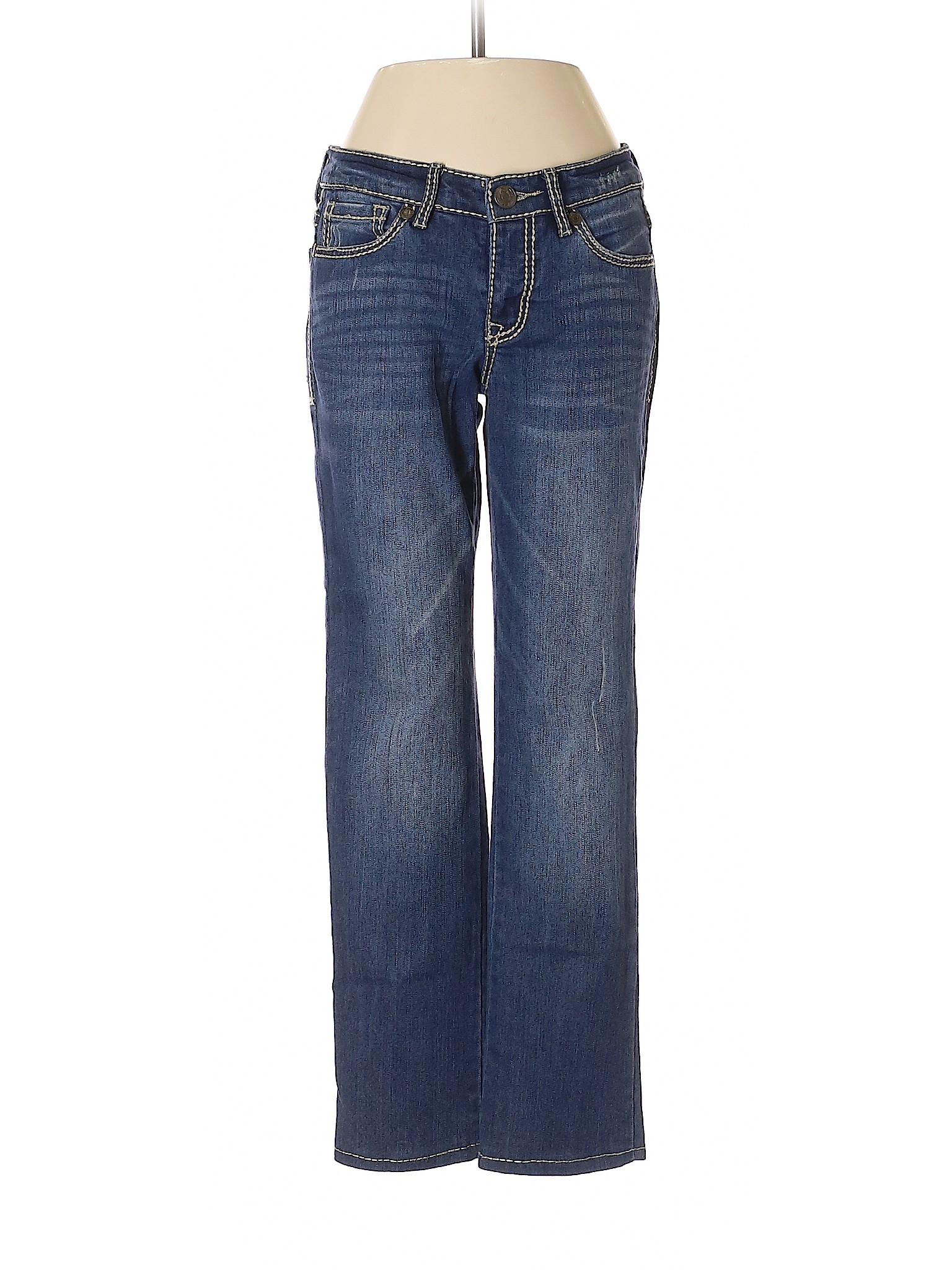 Vintage America Blues Womens Petite Vintage Taper Leg Jean