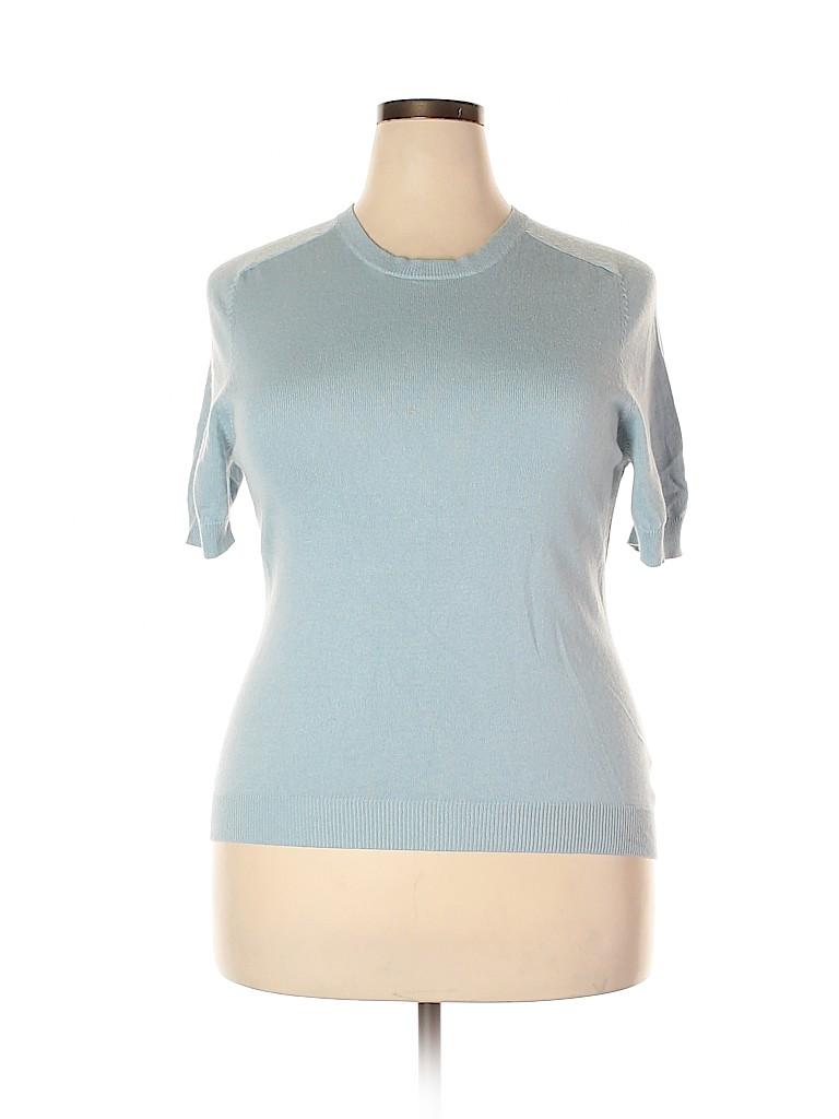 Carlisle Women Silk Pullover Sweater Size XXL