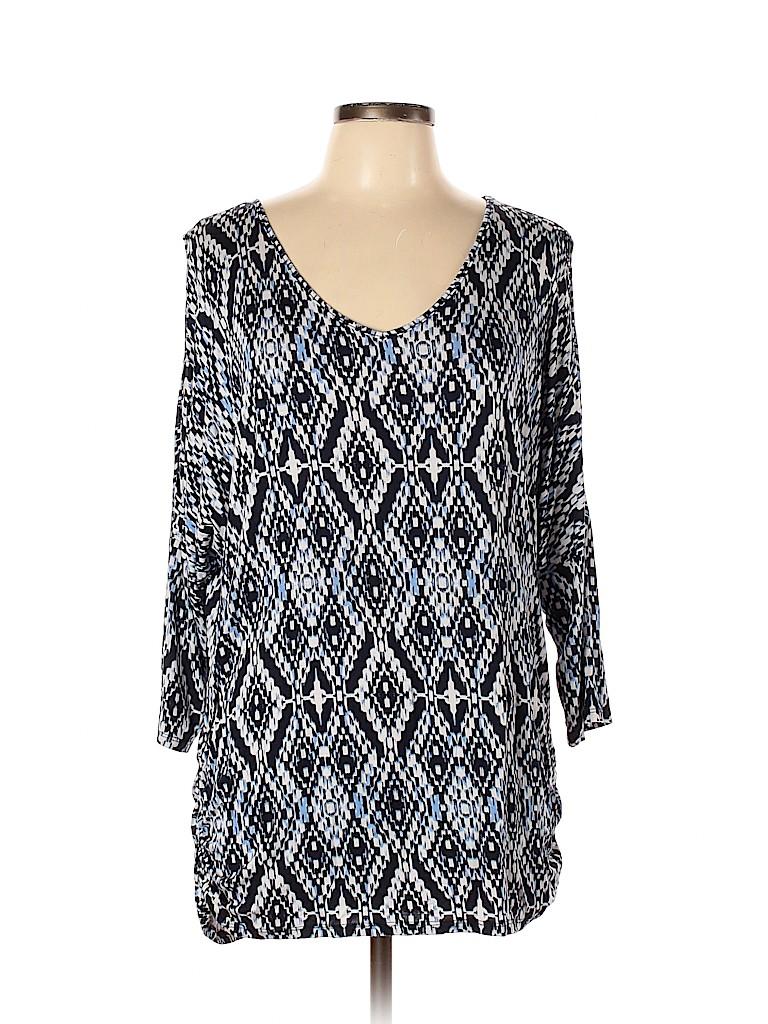 DressBarn Women 3/4 Sleeve Top Size XL