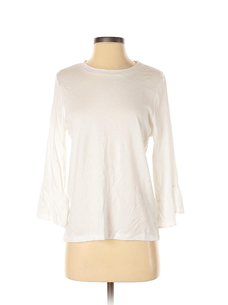 Banana Republic Factory Store Women 3/4 Sleeve T-Shirt Size S