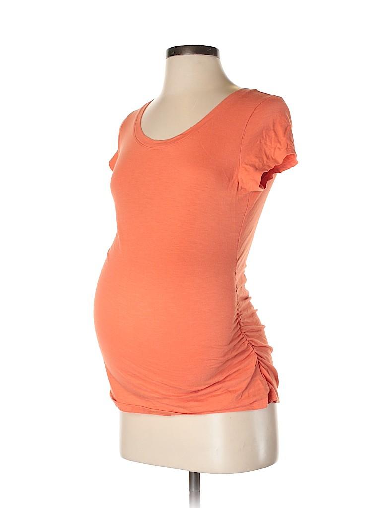 Liz Lange Maternity for Target Women Short Sleeve T-Shirt Size S (Maternity)