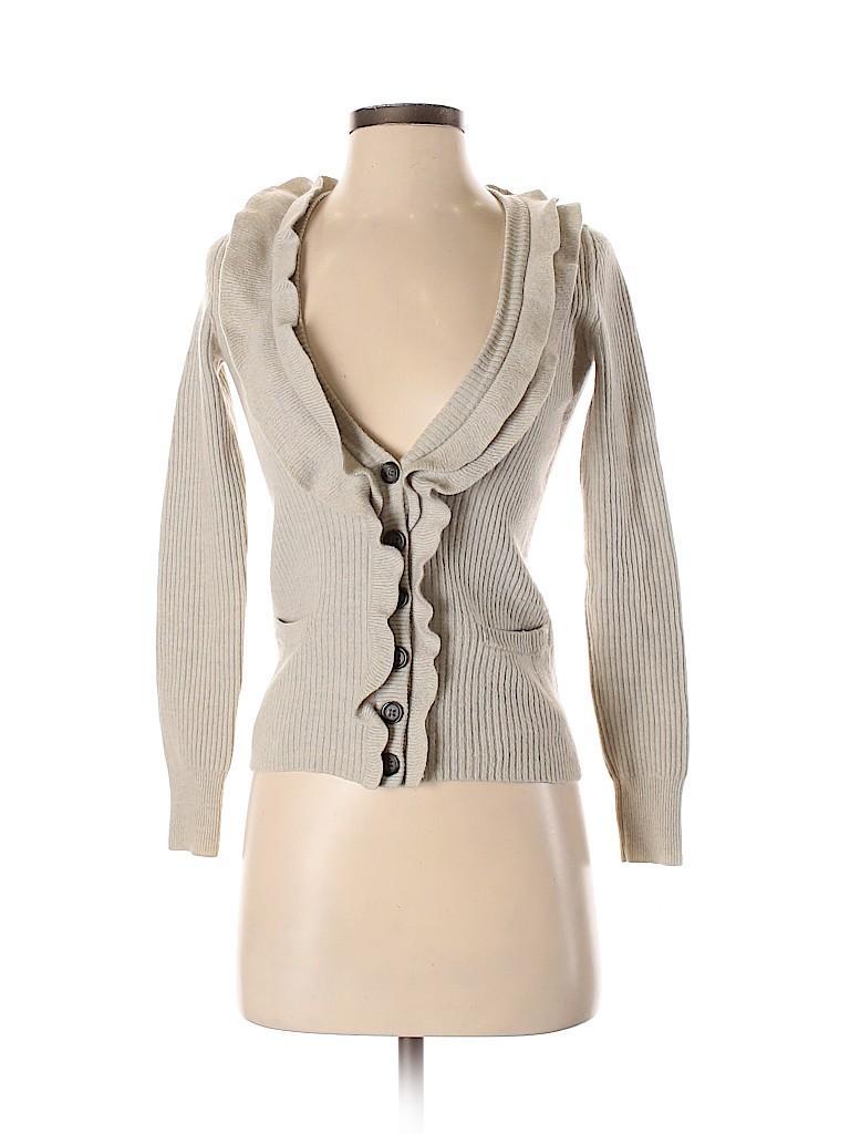 Banana Republic Women Wool Cardigan Size XS