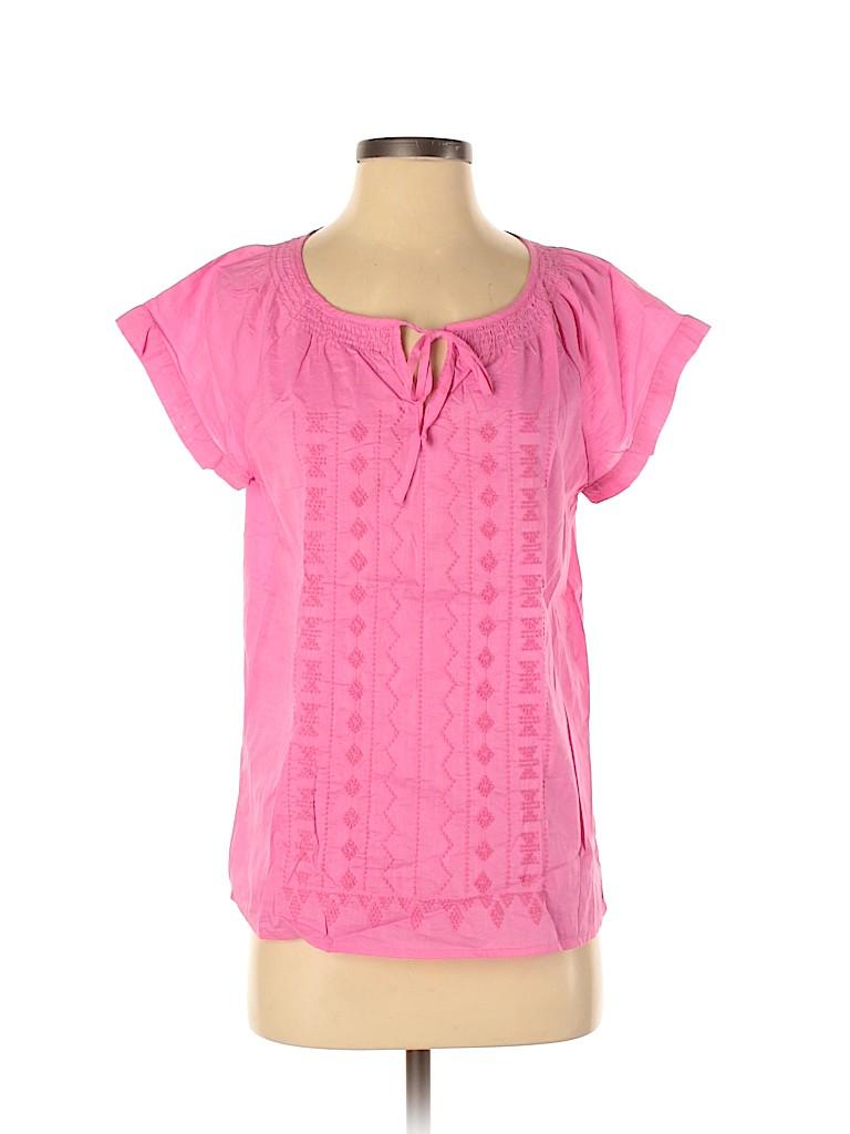 Gap Outlet Women Short Sleeve Blouse Size S