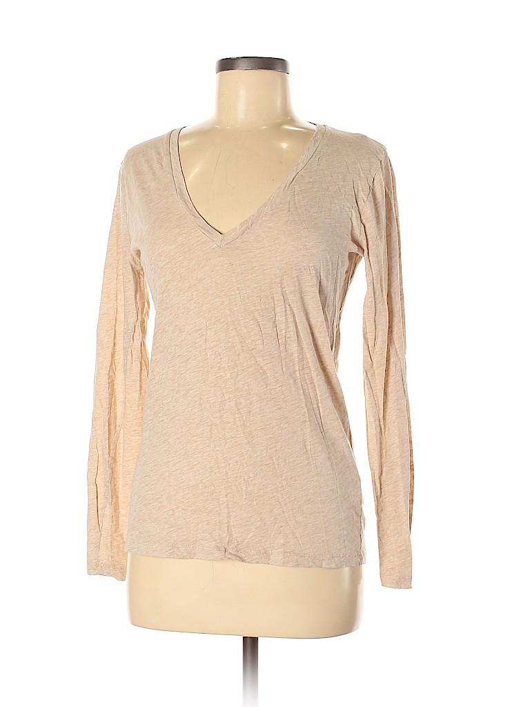 J. Crew Women Long Sleeve T-Shirt Size M