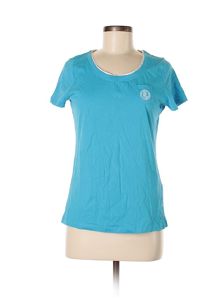 L-RL Lauren Active Ralph Lauren Women Short Sleeve T-Shirt Size S
