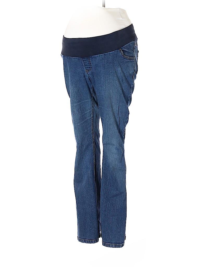 Motherhood Women Jeans Size L (Maternity)