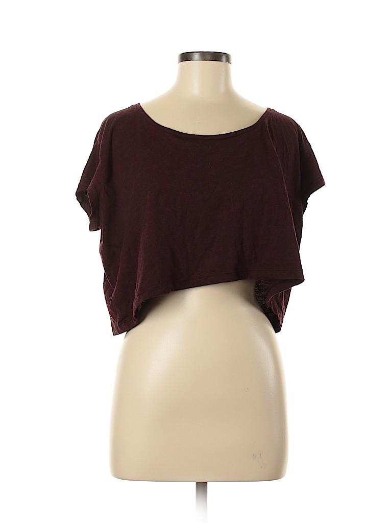 American Apparel Women Short Sleeve T-Shirt One Size