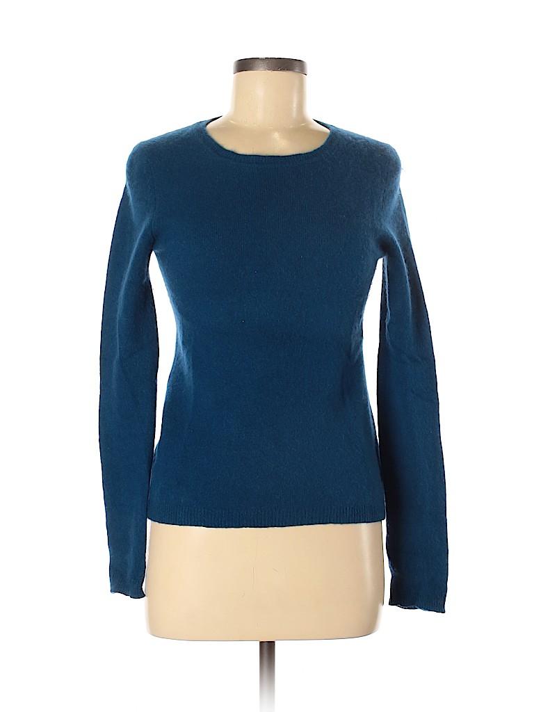 Adrienne Vittadini Women Cashmere Pullover Sweater Size M