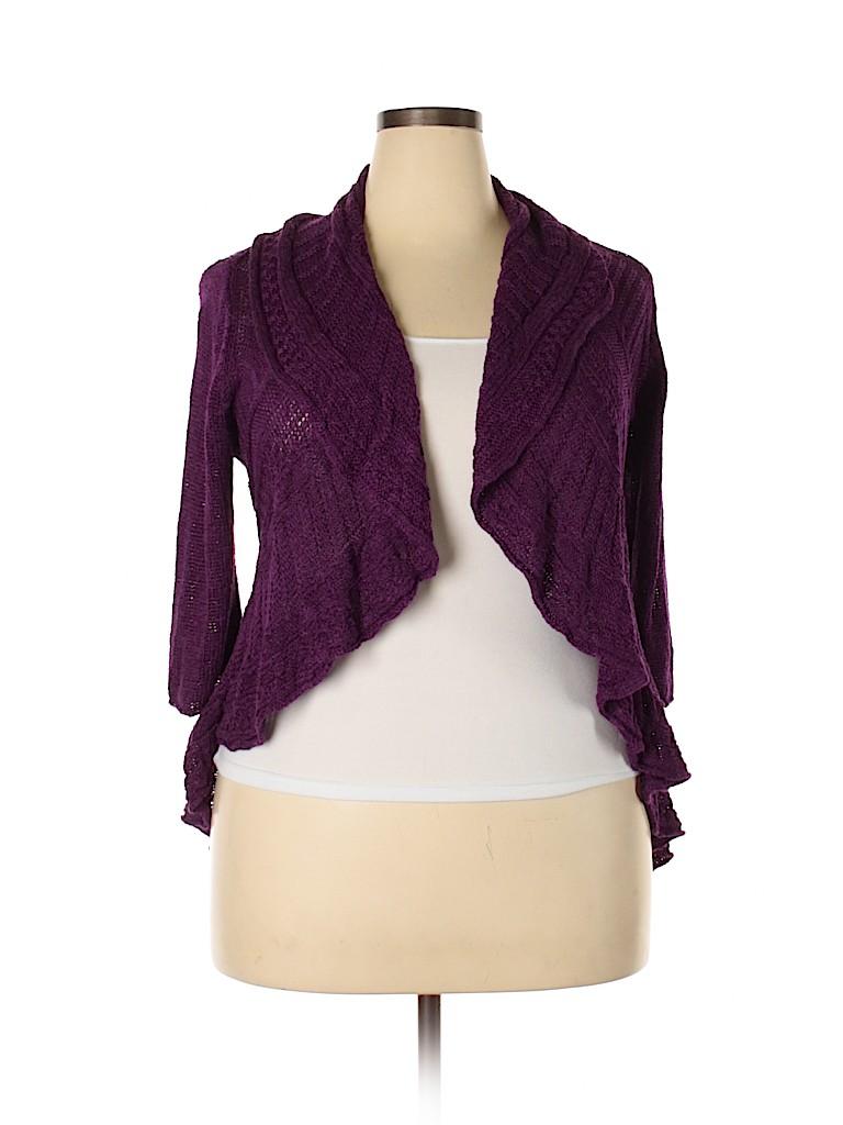 Lane Bryant Women Cardigan Size 18 Plus (3) (Plus)