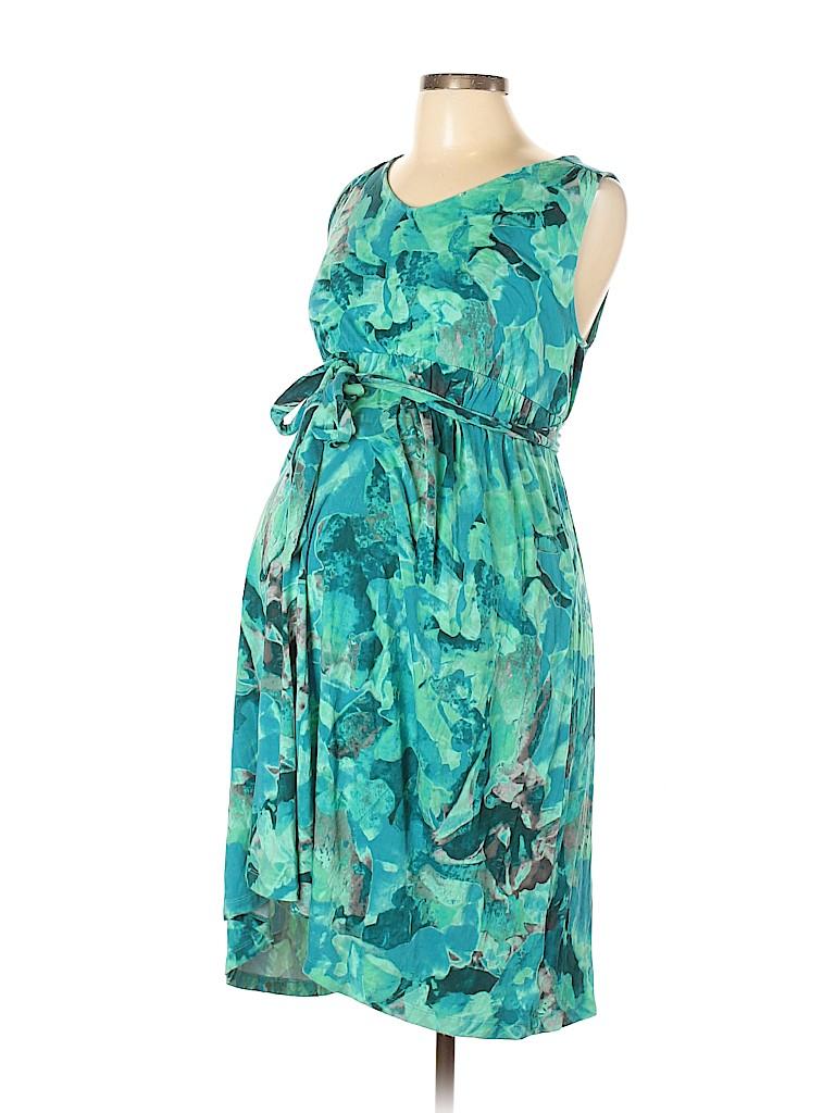 Liz Lange Maternity for Target Women Casual Dress Size M (Maternity)
