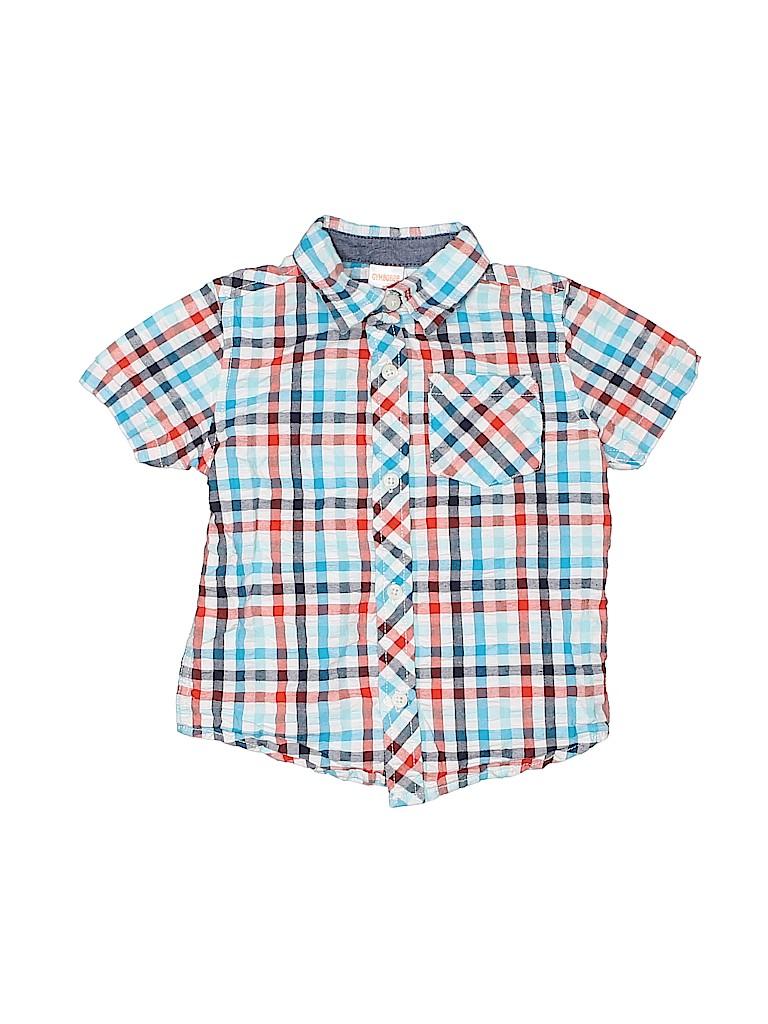 Gymboree Boys Short Sleeve Button-Down Shirt Size 2T