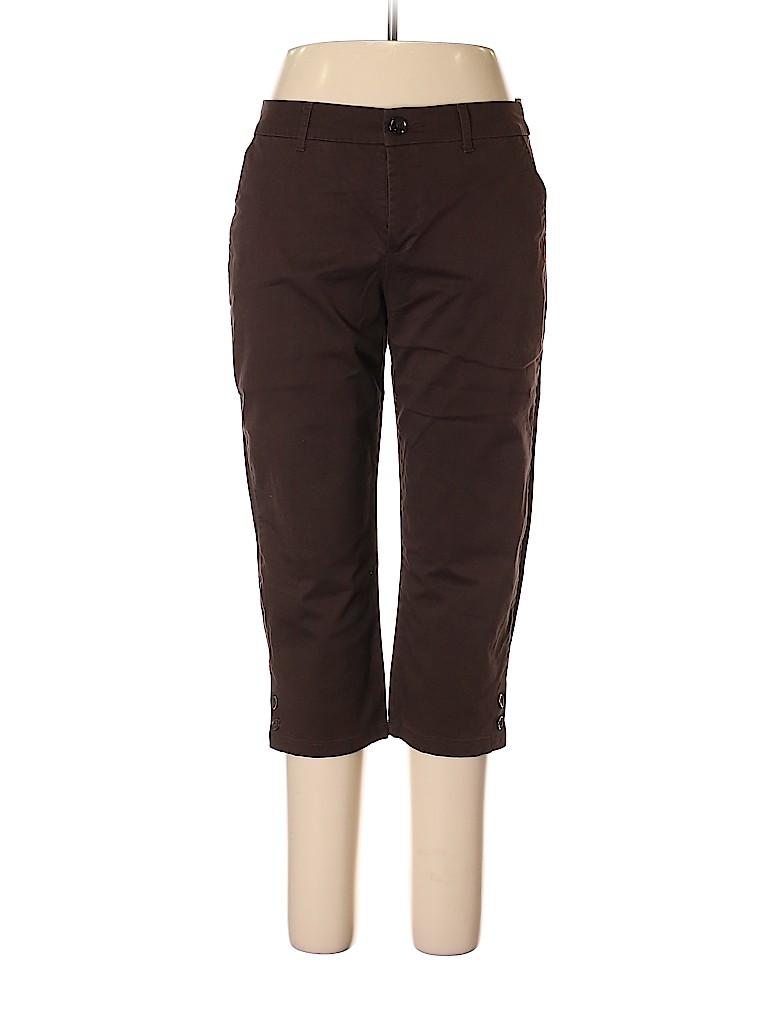 Croft & Barrow Women Khakis Size 12