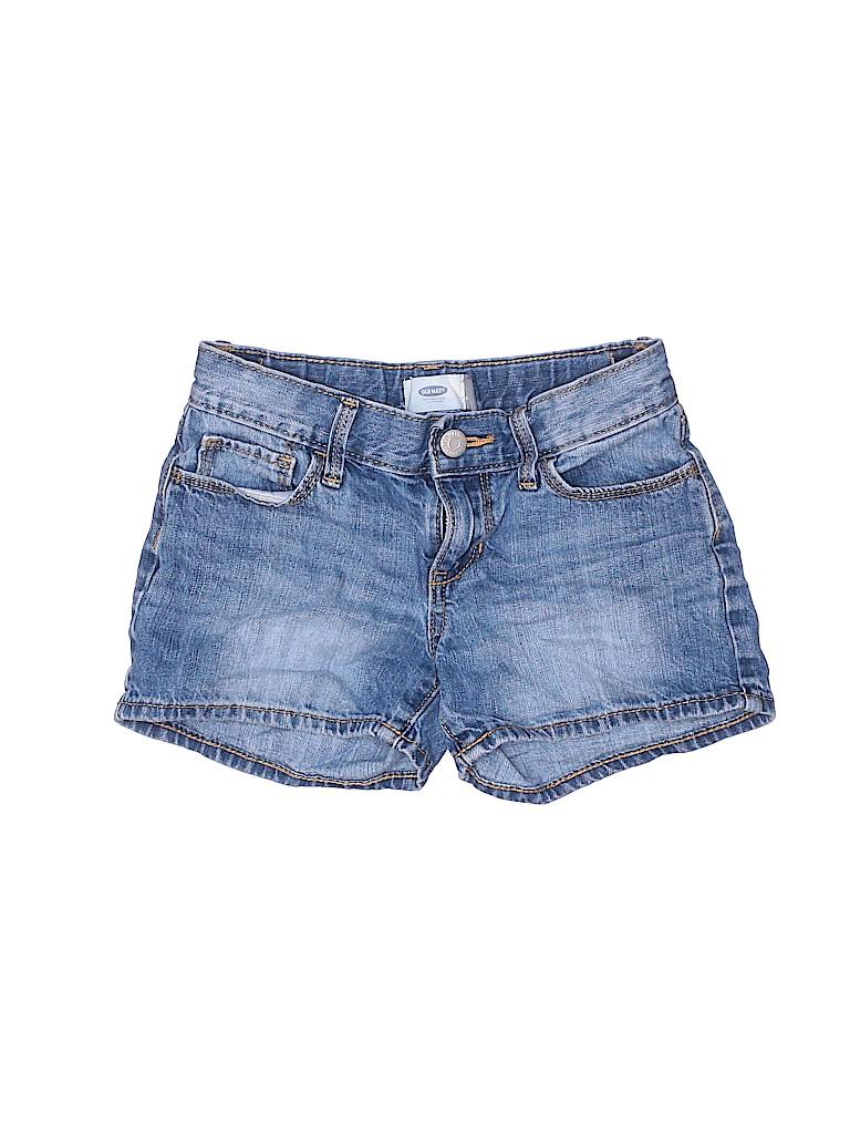 Old Navy Girls Denim Shorts Size 8