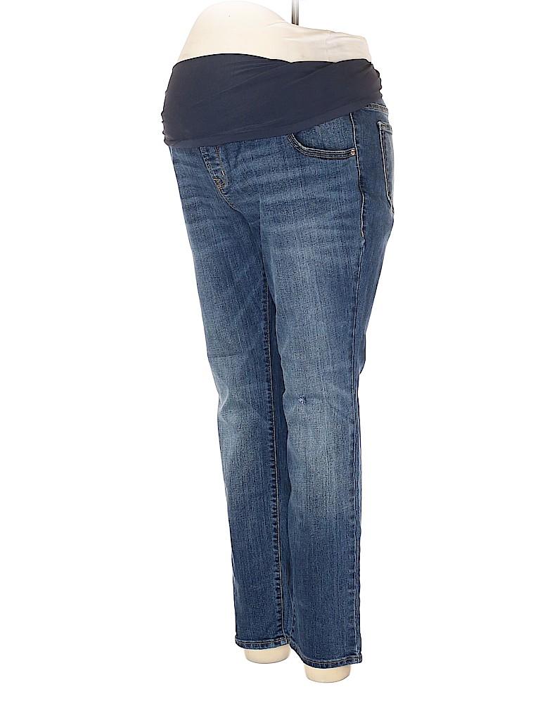 Old Navy - Maternity Women Jeans Size 16 (Maternity)
