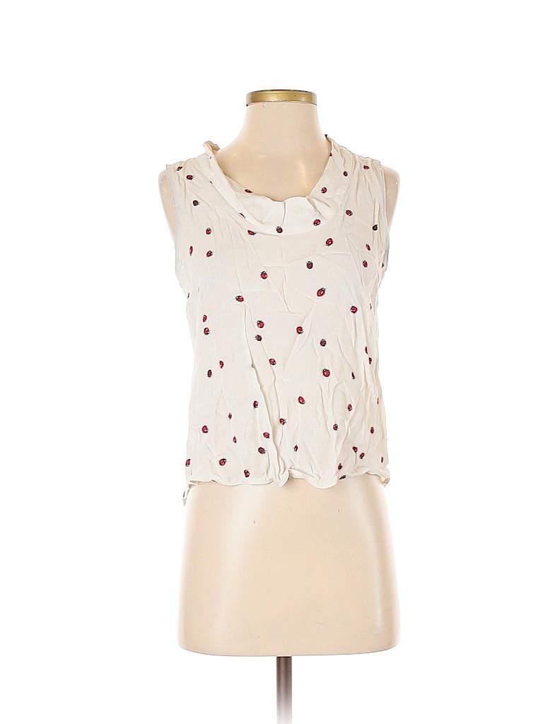 Zara Basic Women Sleeveless Blouse Size S