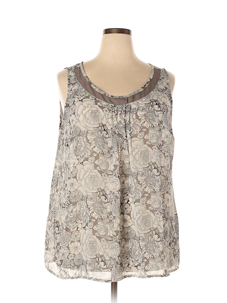 Avenue Women Sleeveless Blouse Size 22 - 24 Plus (Plus)