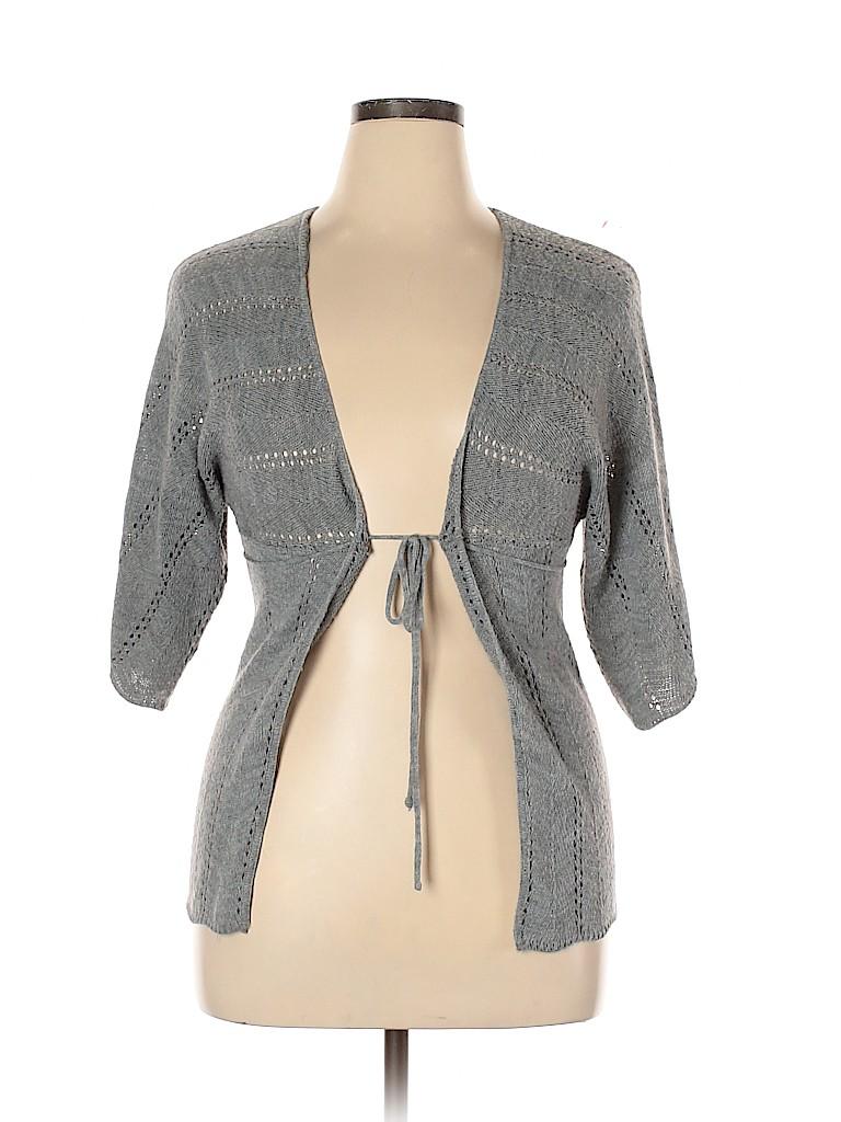 Xhilaration Women Cardigan Size XL