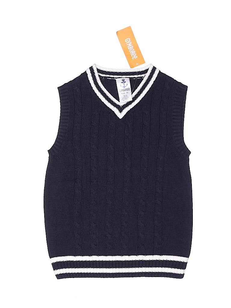 Gymboree Boys Sweater Vest Size 5
