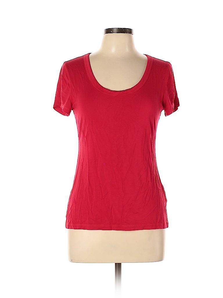 Cable & Gauge Women Short Sleeve Top Size L