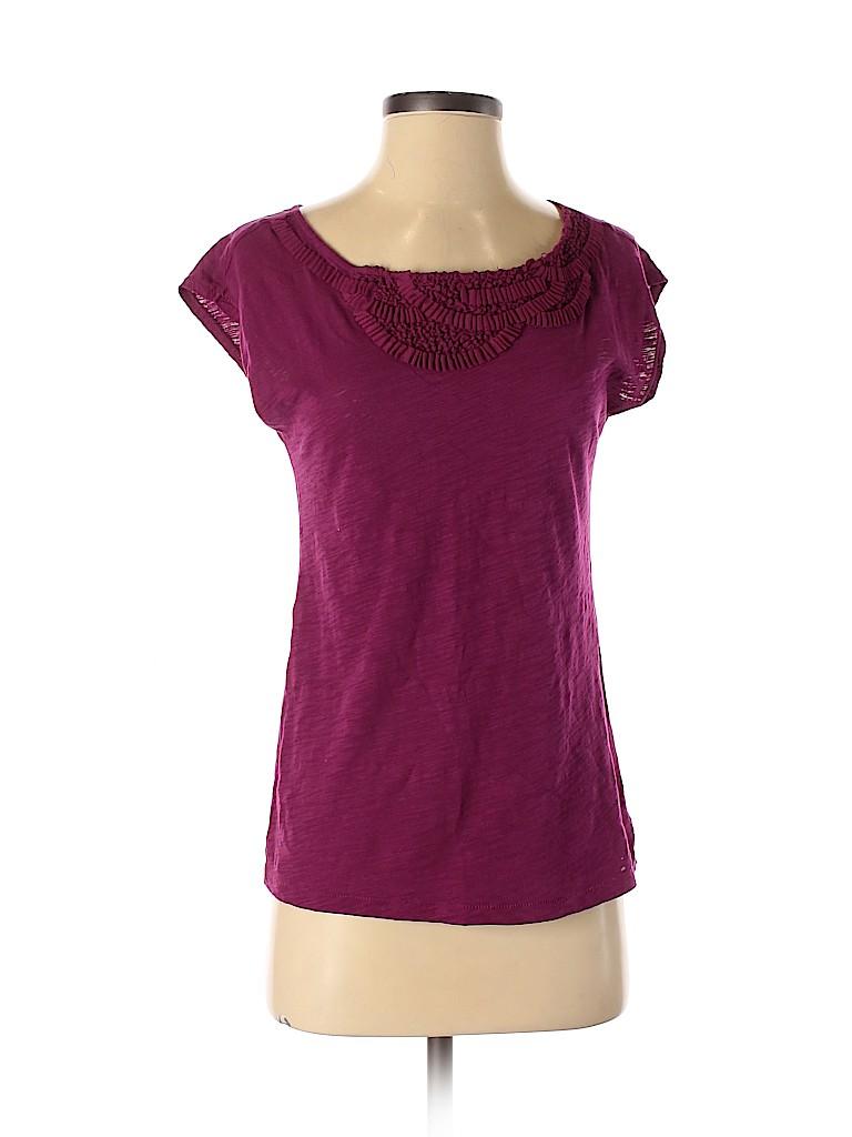 Ann Taylor LOFT Women Short Sleeve Top Size XS