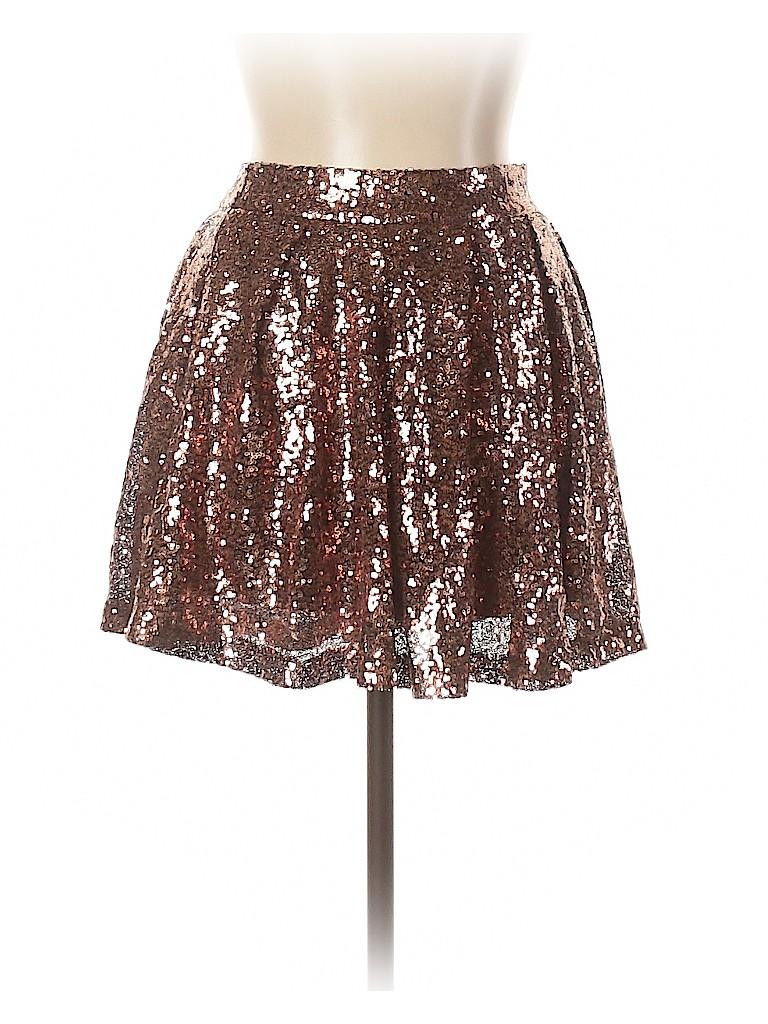 Boo Hoo Women Formal Skirt Size 8