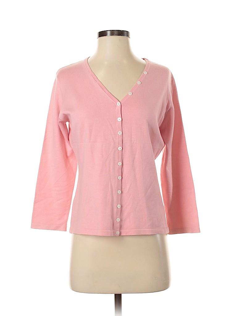 Lilly Pulitzer Women Silk Cardigan Size S