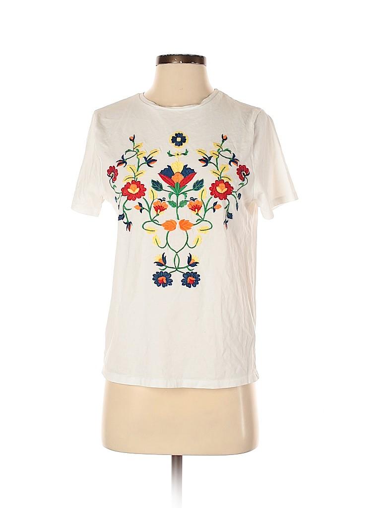 Zara Basic Women Short Sleeve T-Shirt Size S