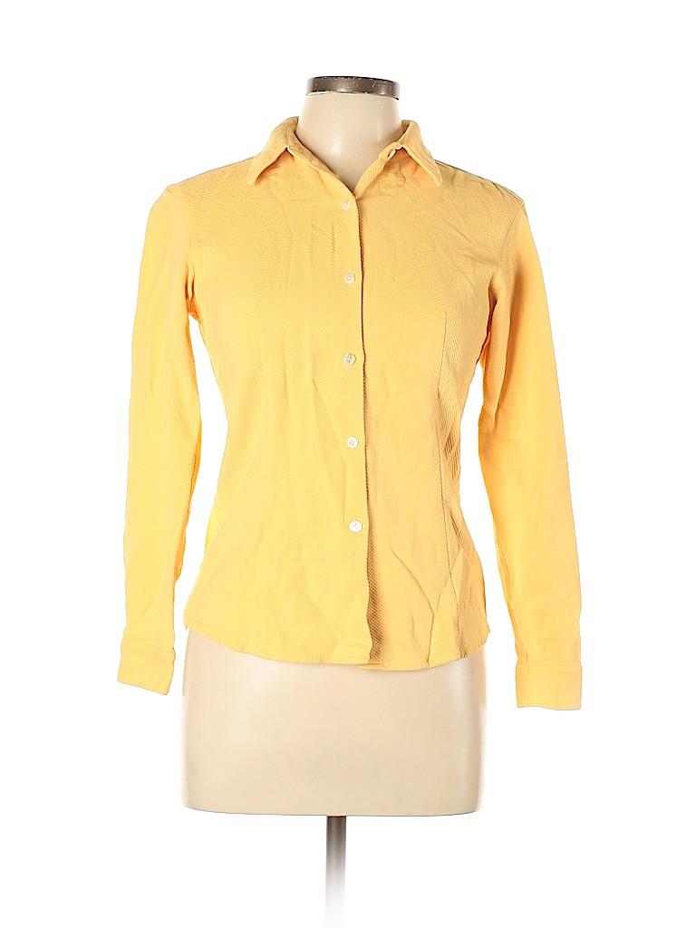J. Crew Women Long Sleeve Blouse Size M