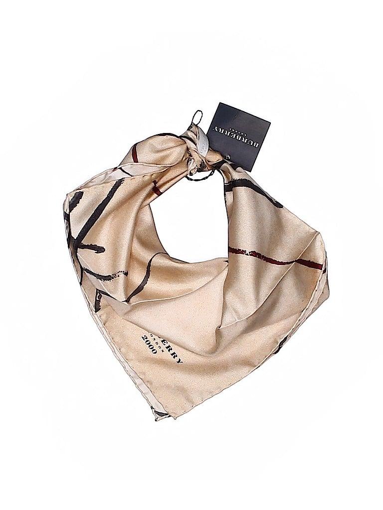 Burberry Women Silk Scarf One Size