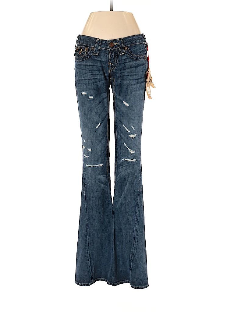 True Religion Women Jeans 24 Waist
