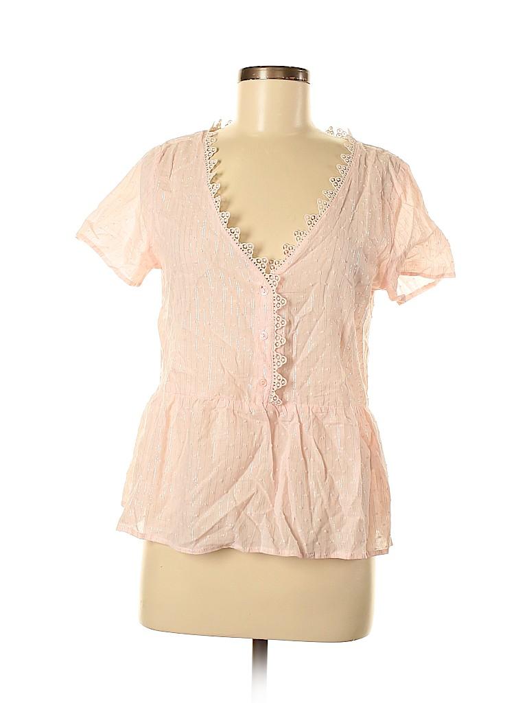 Unbranded Women Short Sleeve Blouse Size S