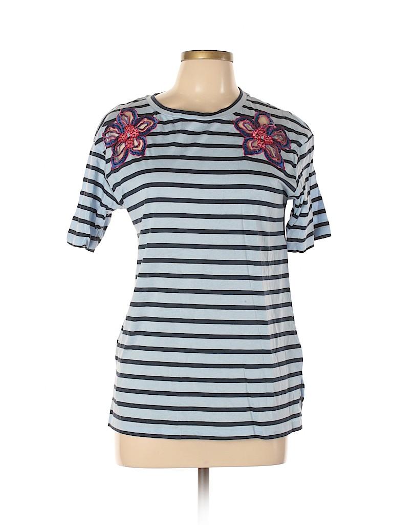 Sandro Women Short Sleeve T-Shirt Size Lg (3)