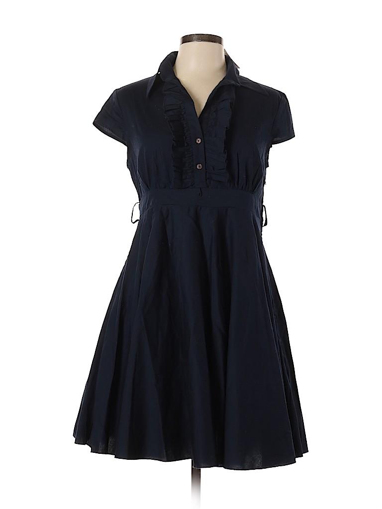 Bailey Blue Women Casual Dress Size L