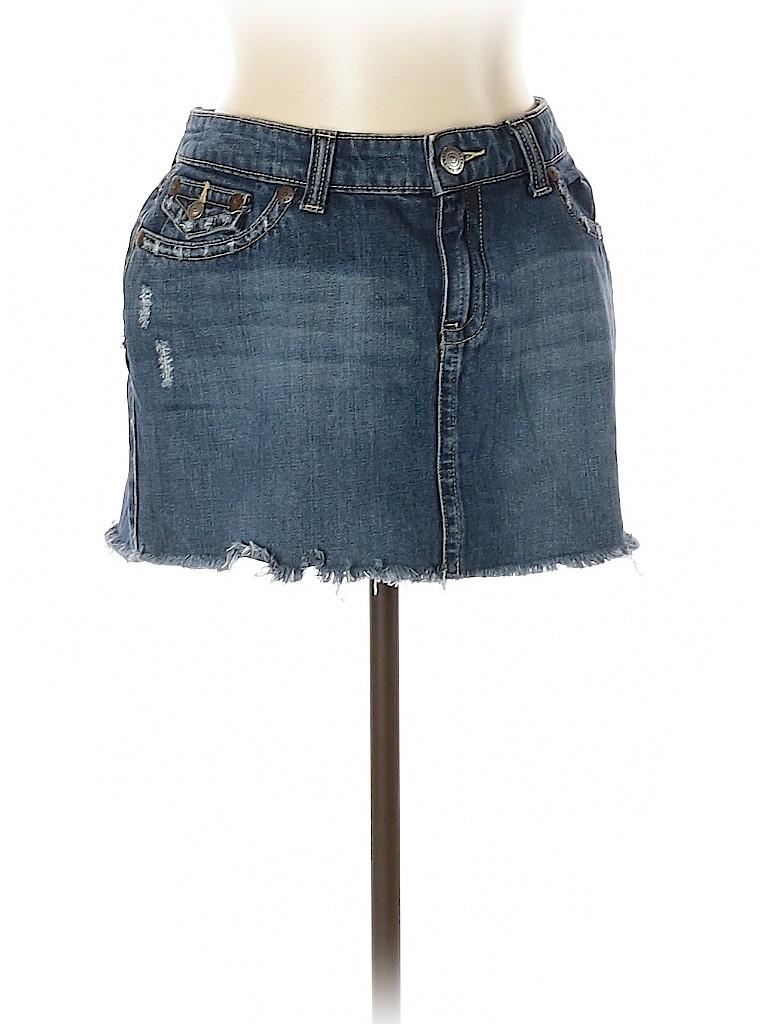 Aeropostale Women Denim Skirt Size 11 - 12