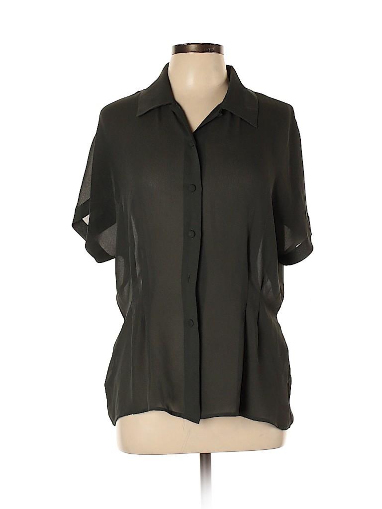 Rena Rowan for Saville Women Short Sleeve Blouse Size 12