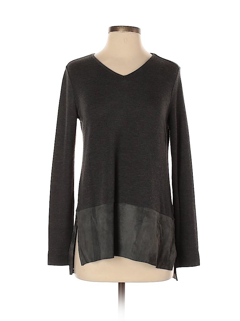 Ecru Women Pullover Sweater Size S