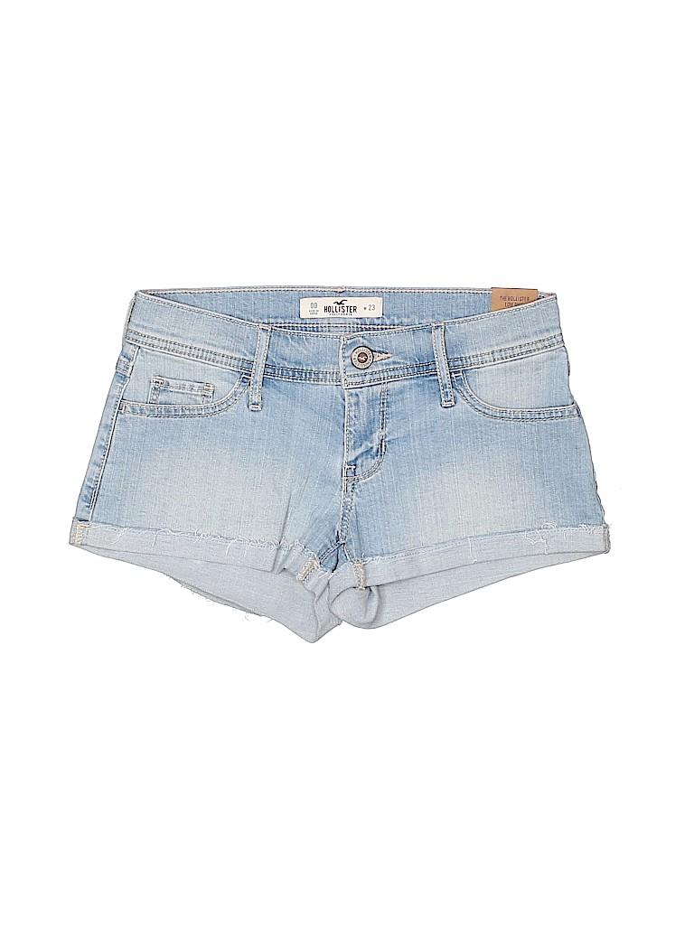 Hollister Women Denim Shorts Size 00