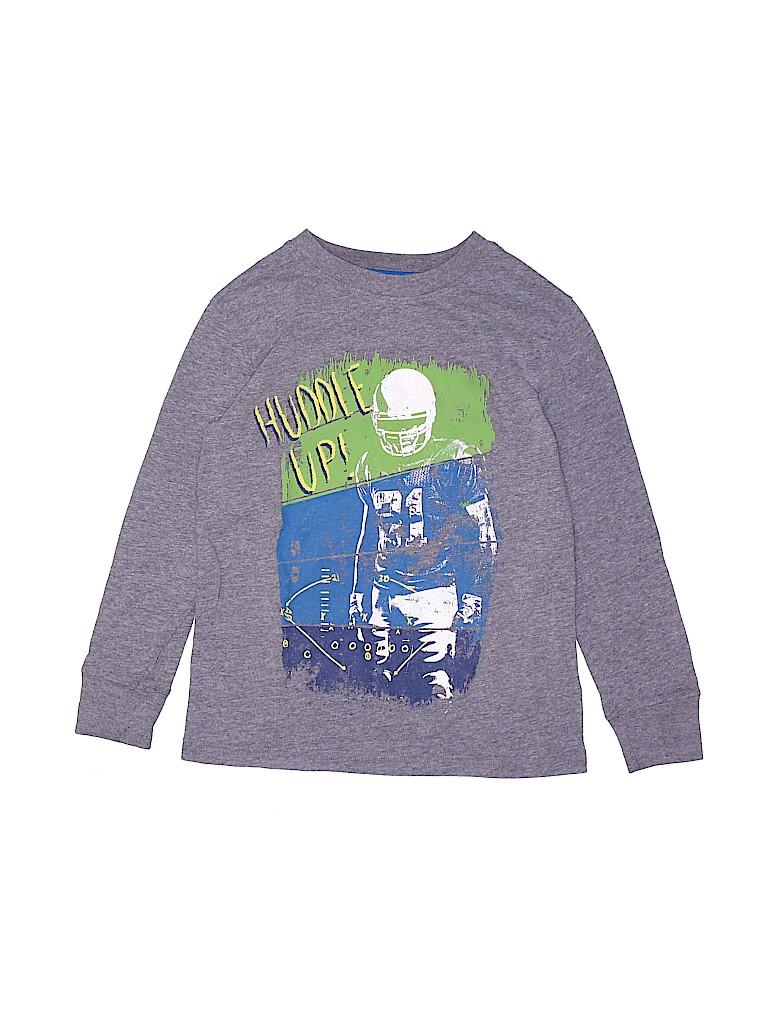 Cat & Jack Boys Long Sleeve T-Shirt Size 4 - 5