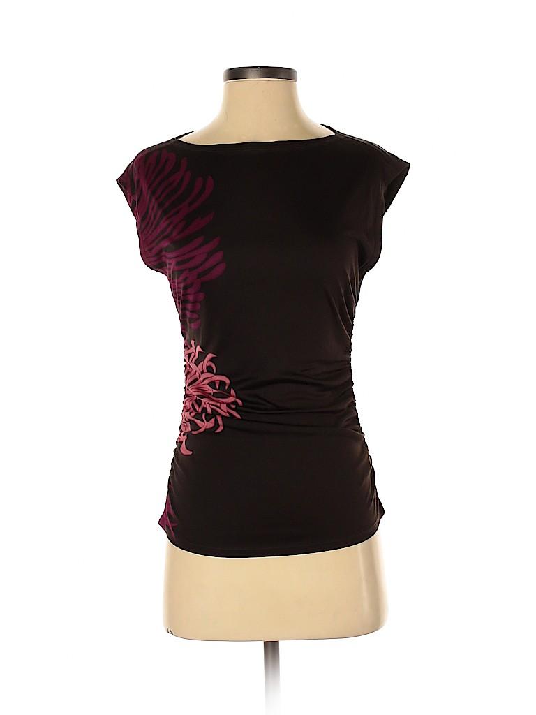 DKNY Women Sleeveless Silk Top Size S