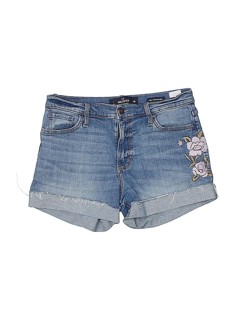 Hollister Women Denim Shorts Size 7
