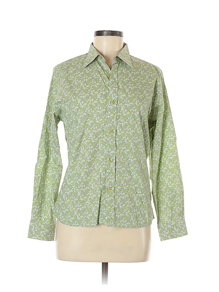 Ted Baker London Women Long Sleeve Button-Down Shirt Size 6 (2)