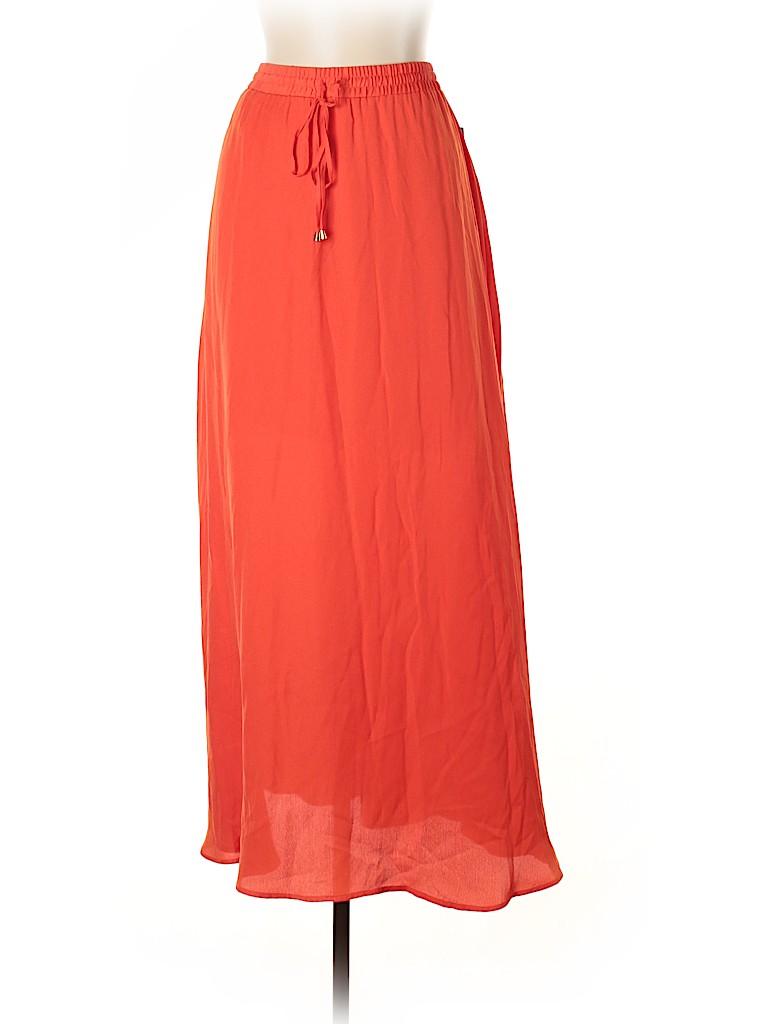 Worthington Plus Women Casual Skirt Size L (Plus)