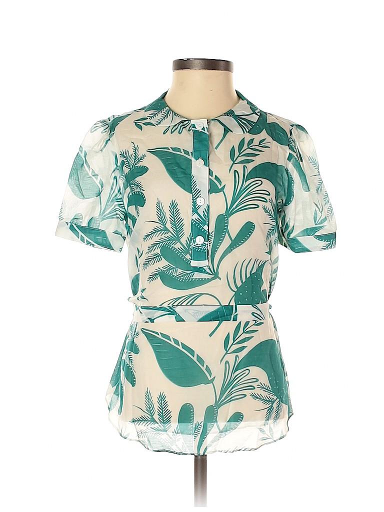 Assorted Brands Women Short Sleeve Blouse Size 2