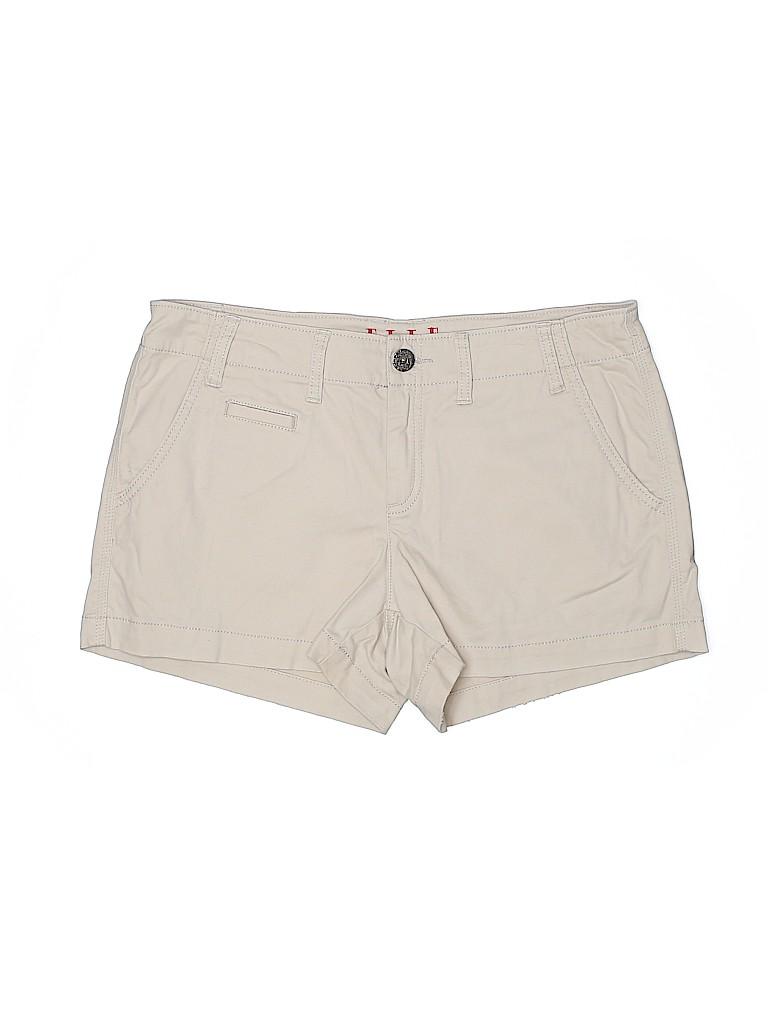 Elle Women Khaki Shorts Size 10