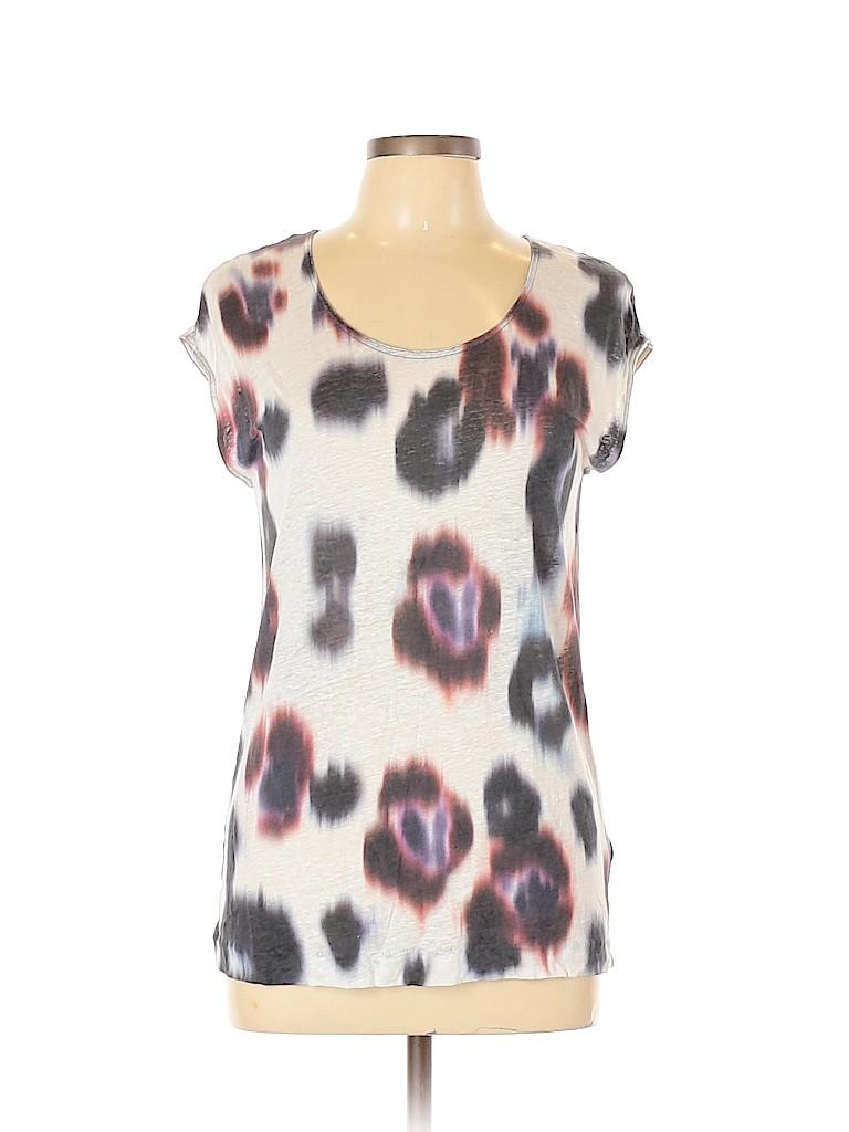 ALLSAINTS Women Short Sleeve T-Shirt Size M
